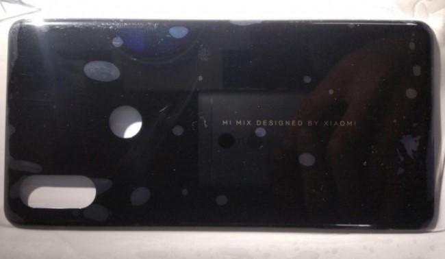 Xiaomi Mi Mix 3 rear panel leaks Image & Picture