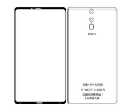 Oppo R13 Picture