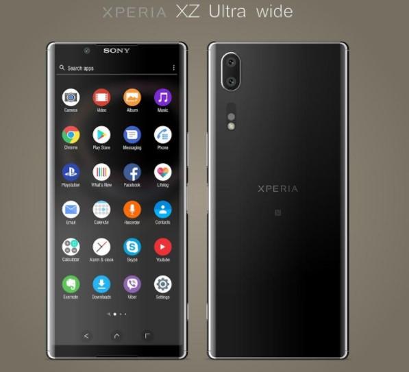 Sony Xperia XZ Ultra Wide