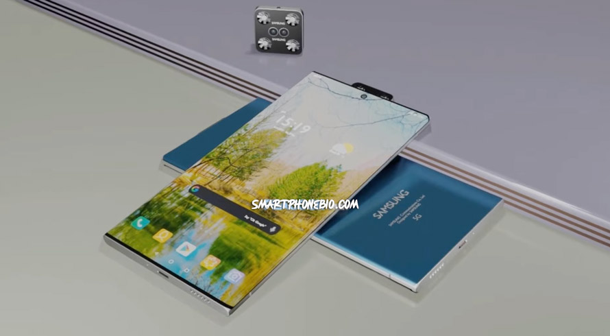 Samsung First Flying Drone Camera Concept Phone