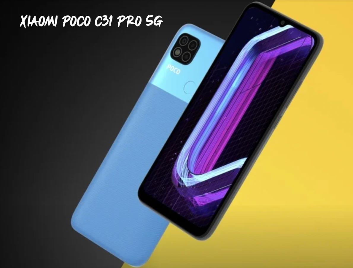 Xiaomi Poco C31 Pro 5G
